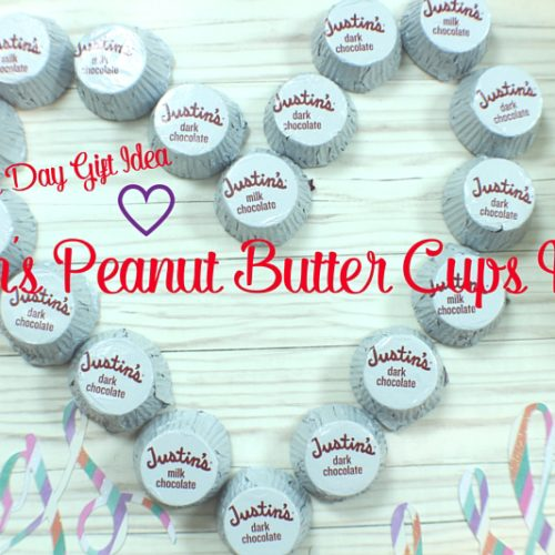 Justin's Peanut Butter Cups Heart: Valentine's Day Gift Idea