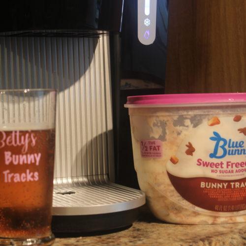 Bunny Tracks Float Made With Keurig KOLD Drink Maker