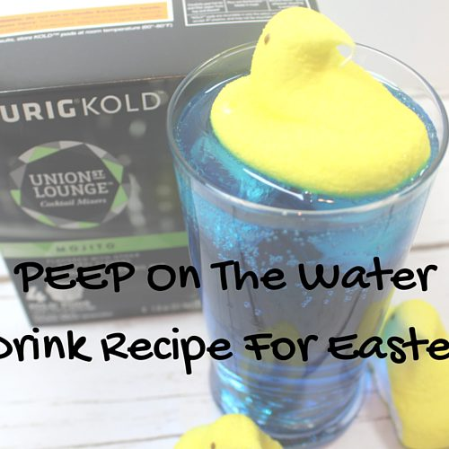 PEEP On The Water Easter Drink Recipe
