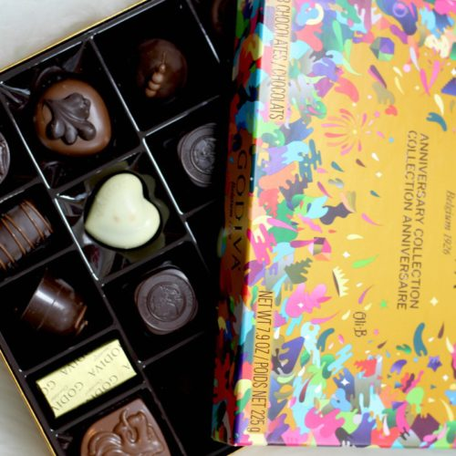 Taking A Bite Out Of History With GODIVA Chocolate's 90th Anniversary Collection