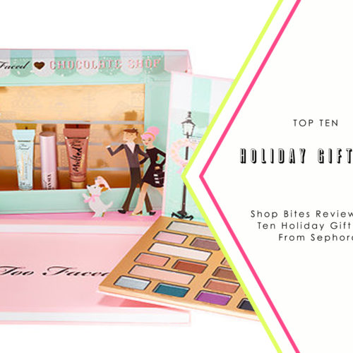 Top 10 Sephora Gift Sets Holiday 2016 Edition