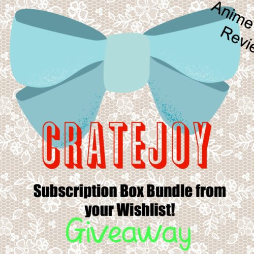 Anime Bento Holiday Wishlist Subscription Box #giveaway