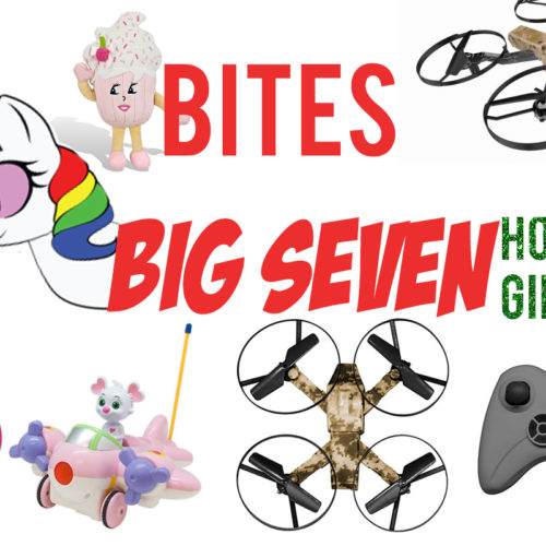 Bites Reviews Big Seven Holiday Gift Guide: All About The Toys