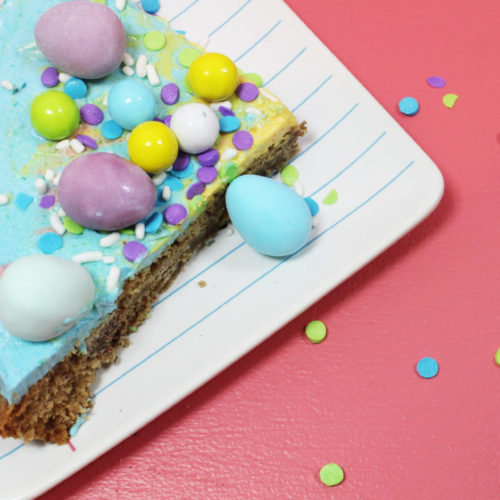 Color Me Easter Cookie Using The Otis Spunkmeyer Chocolate Chip Super Cookie