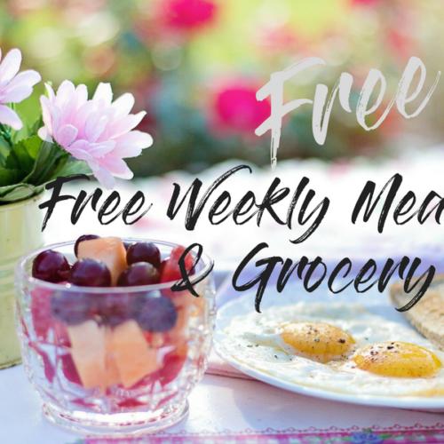 Free Meal Planner And Grocery List Printable #free #printable