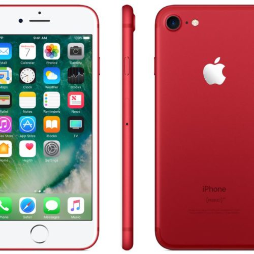 iPhone 7 and iPhone 7 Plus (PRODUCT)RED Special Edition Available March 24th From Verizon
