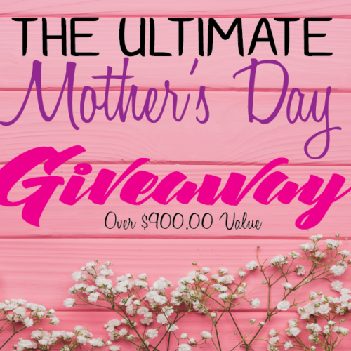 The Ultimate Pamper Mom #giveaway Over $900.00 In Value