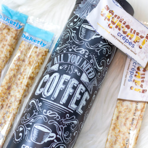 Are Your Mornings In A Rush? The Perfect On The Go Snack & Coffee Mug