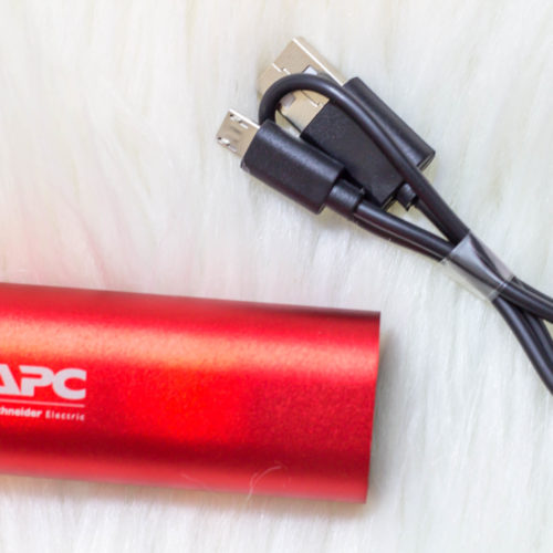 Charge Your Mobile Devices On The Go: APC Mobile Power Pack