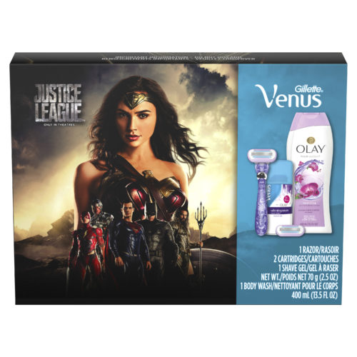 The Perfect Give For The Super Hero In Your Life: Justice League + Gillette Holiday Gift Packs