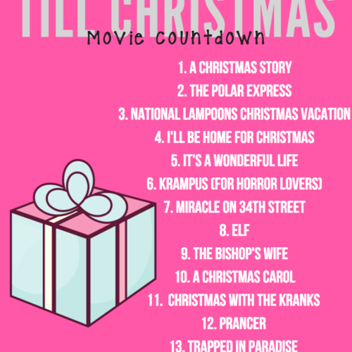 16 Days Till Christmas Movie Countdown