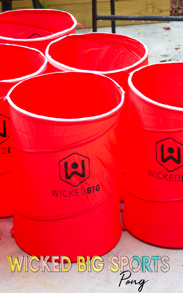 182cad21 Wicked Big Sports line puts a twist on the classic backyard and party games  and supersizes them for even more fun. Wicked Big Pong takes any and all  pong ...