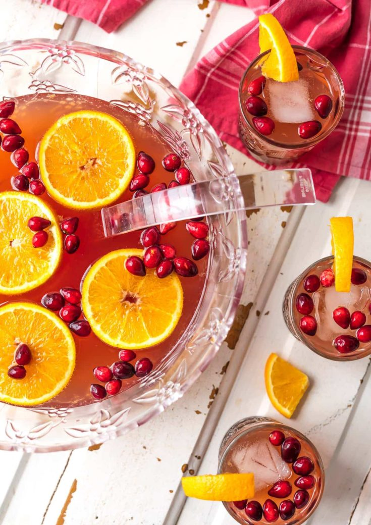 EASY HOLIDAY PUNCH RECIPE