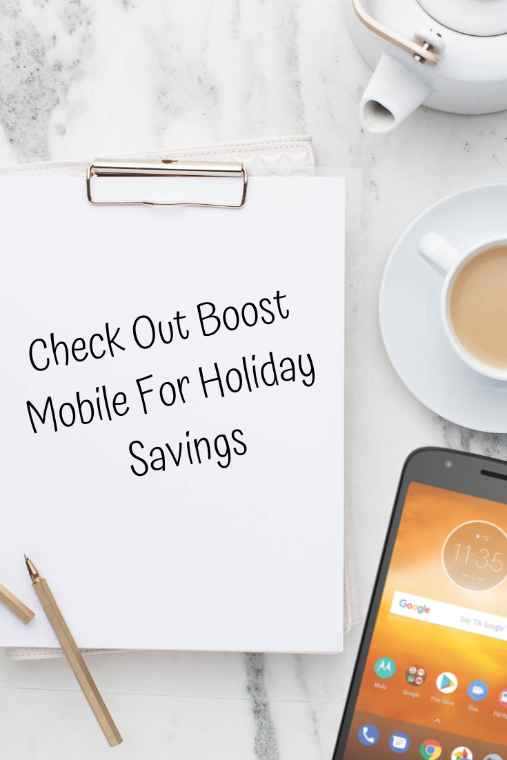 Check Out Boost Mobile For Holiday Savings