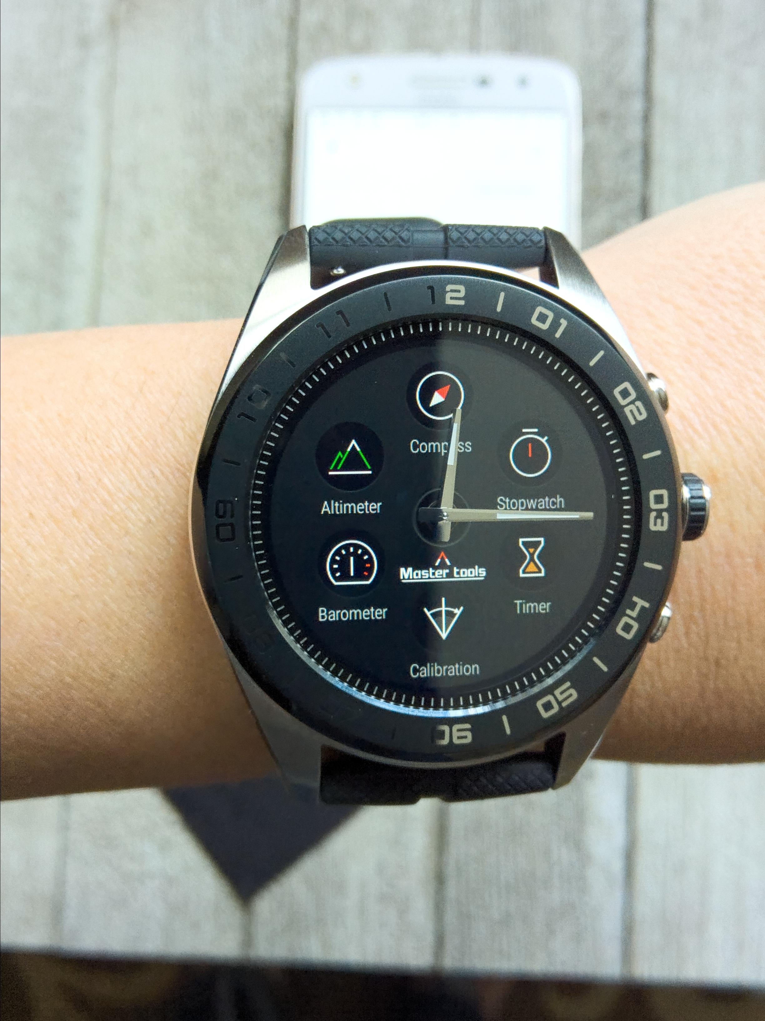 Make Every Minute Matter: LG W7 Smartwatch