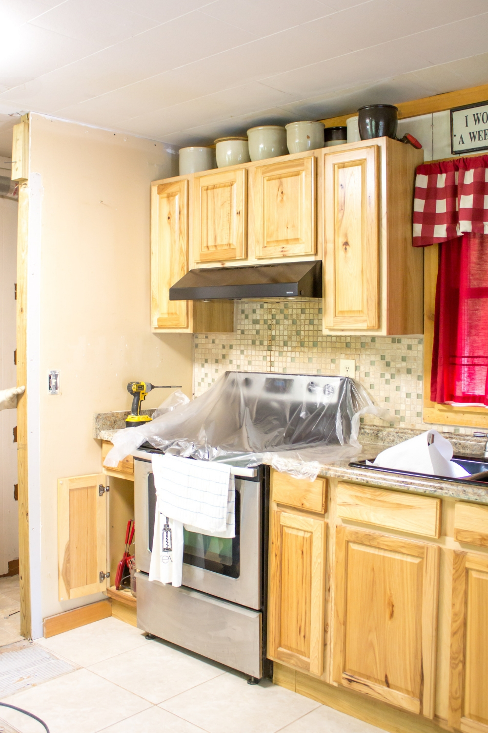 Our Kitchen Remodel (Warning Images Maybe Unsuitable for anyone under the age of 50)