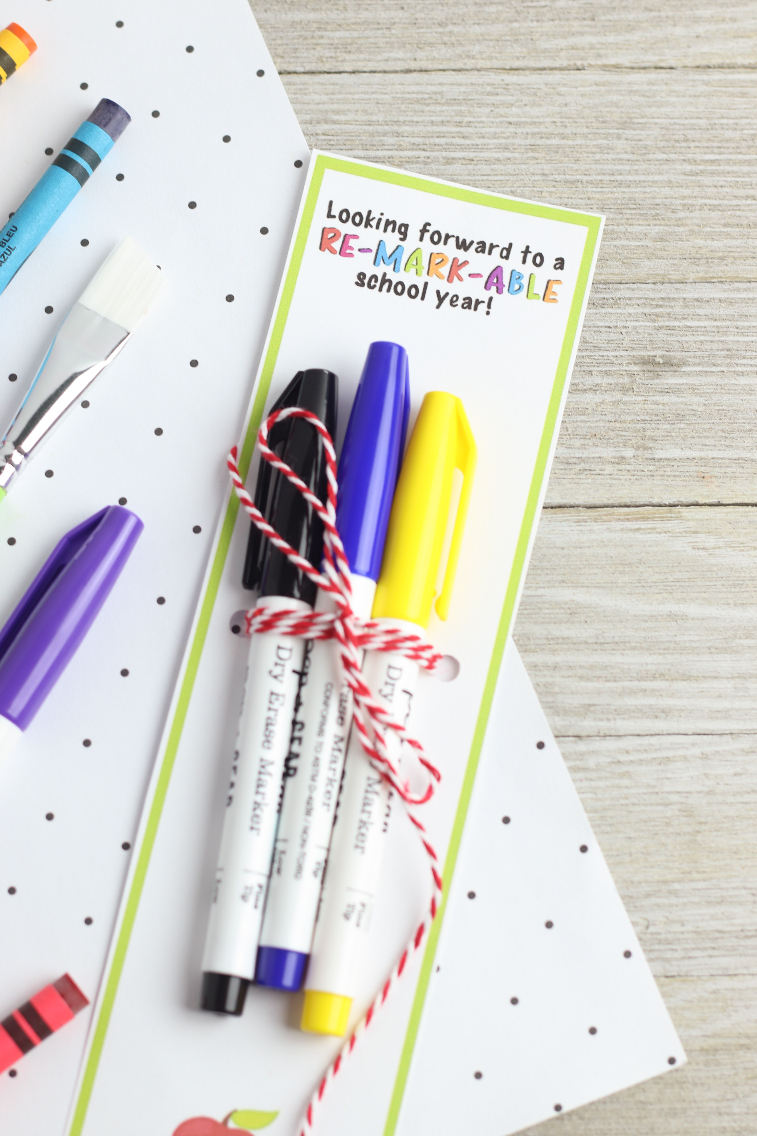 Marker Teacher Gift