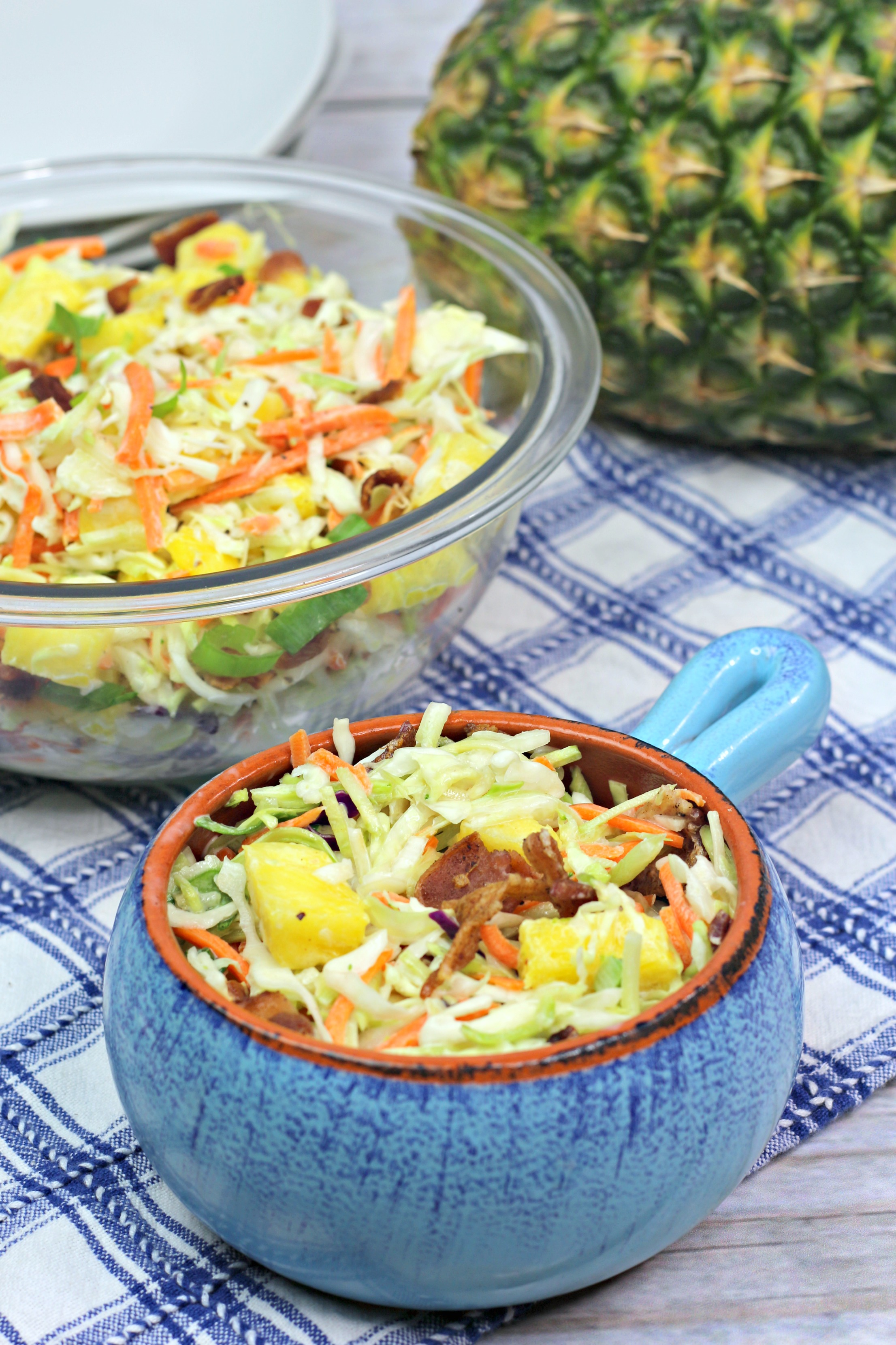 Take Your Coleslaw To The Next Level: Luau Coleslaw Recipe