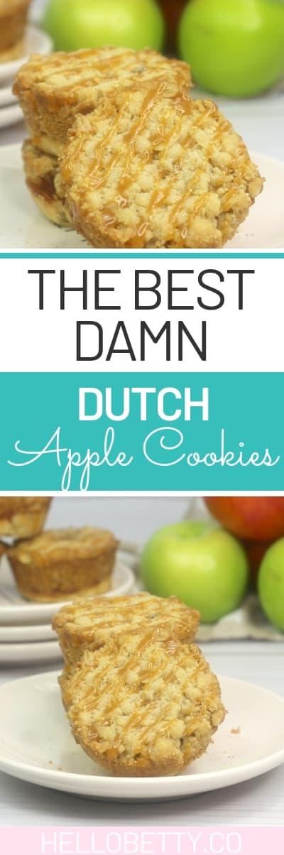 dutch apple cookies