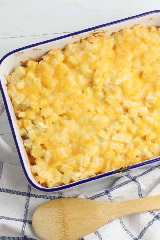 Super Cheesy Potato Bake Casserole