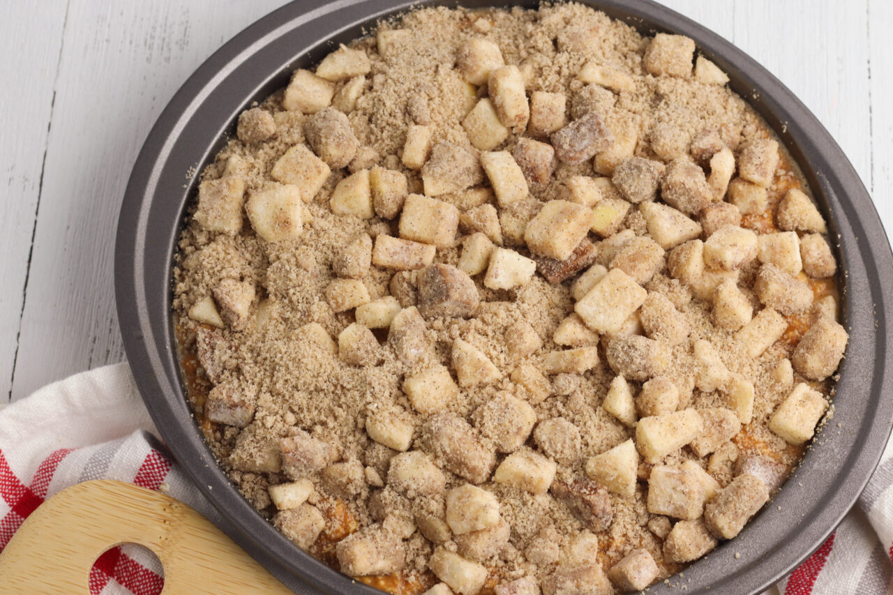 Apple Streusel Baked Oatmeal