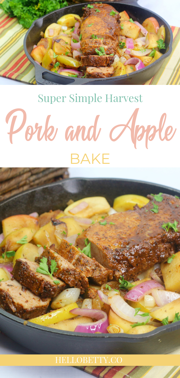 pork and apple bake