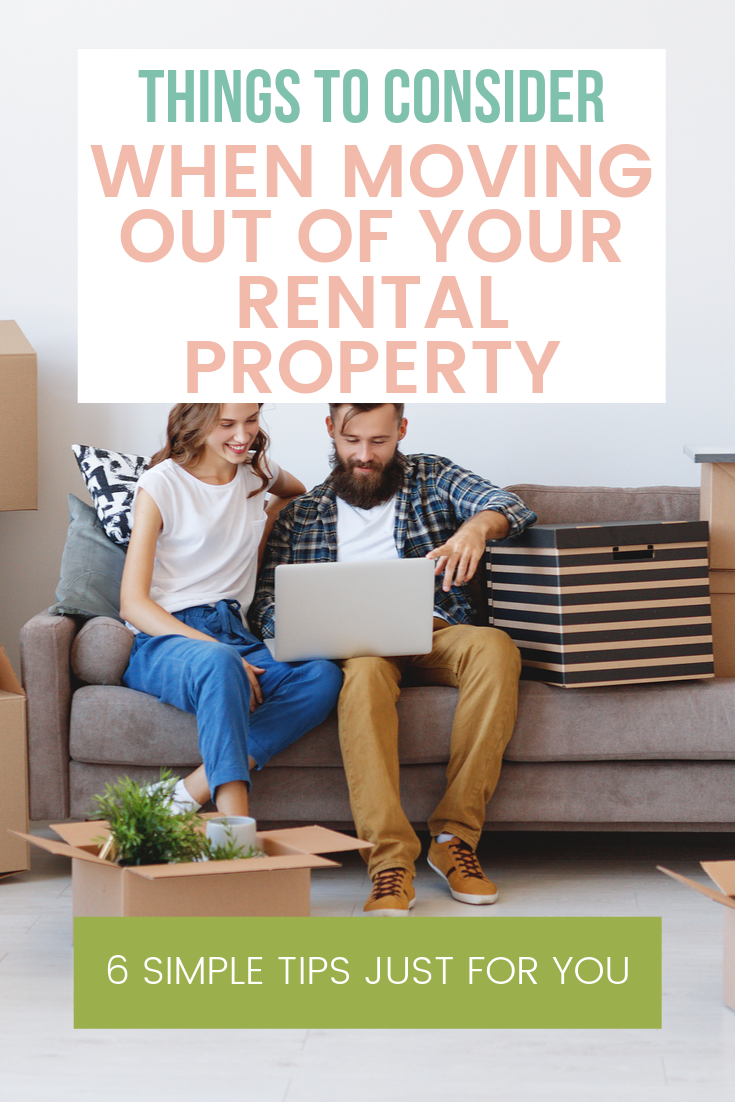 Moving Out Of Your Rental Property