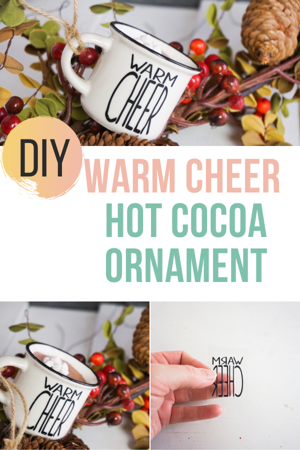 Warm Cheer Hot Cocoa Ornament