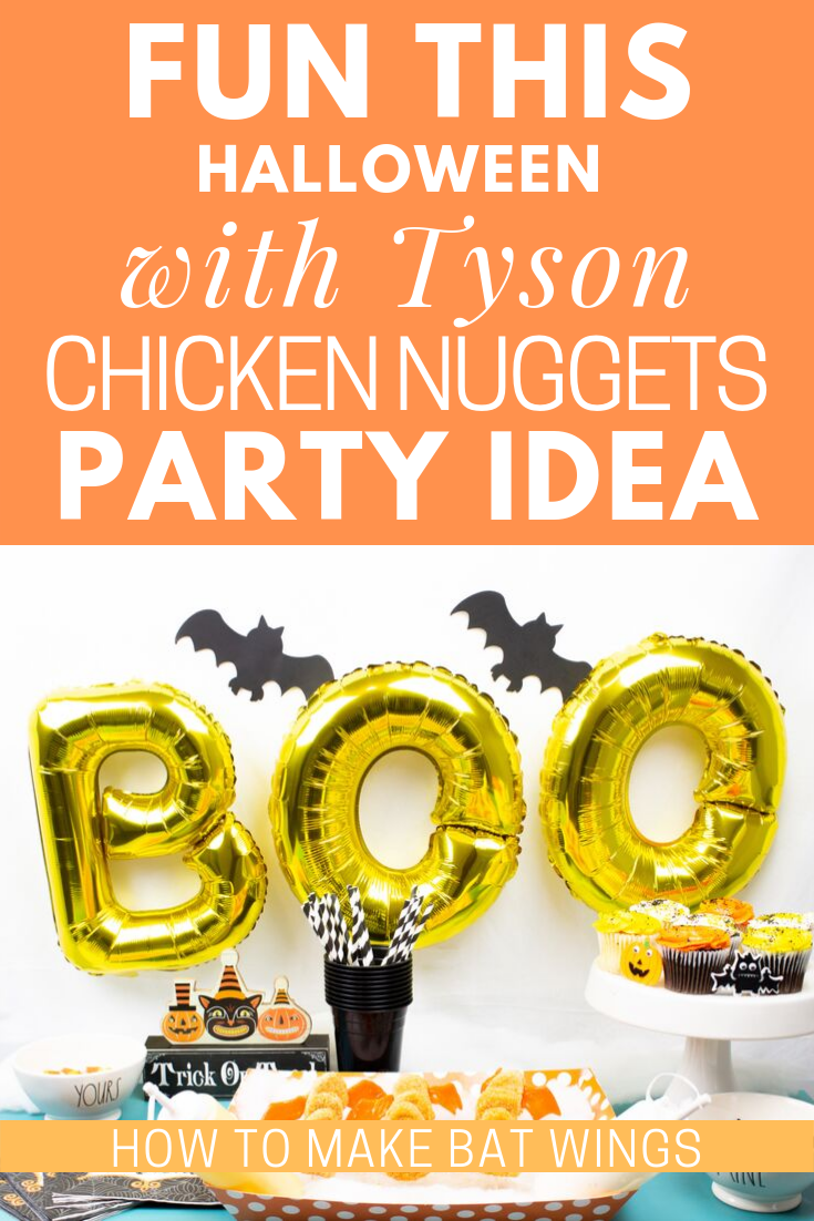 Halloween With Tyson Chicken Nuggets