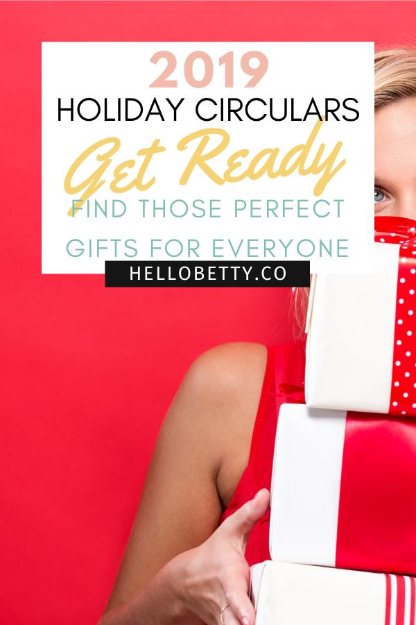 2019 Holiday Circulars