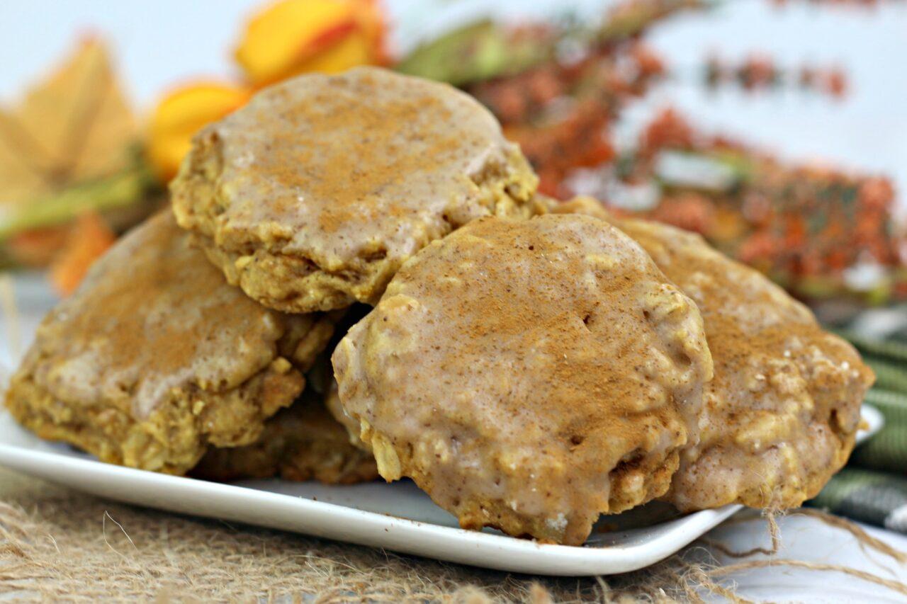 pumpkin oatmeal cookies