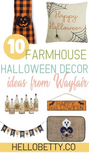 Farmhouse Halloween Decor
