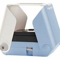 KiiPix Smartphone Picture Printer, Blue   Instantly Print Fun, Retro-Style Photos Right from Smartphone Screen   Portable   No Batteries Required   Great for Crafts, Parties and More!