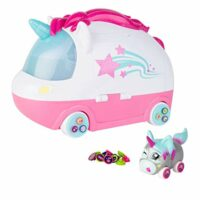 Ritzy Rollerz Toy Cars with Surprise Charms, Dance n Dazzle Spa Playset with Tori Tada