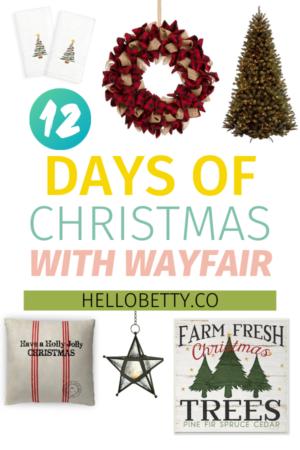 12 Days of Christmas With Wayfair