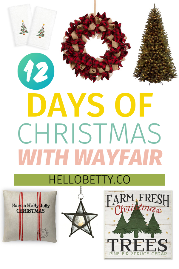 12 Days of Christmas With Wayfair