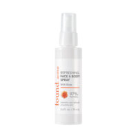 ACTIVE REFRESHING FACE & BODY SPRAY WITH ROSE