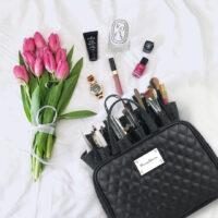 Makeup Beauty Organiser Travel Toiletry Bag | Cherry Blooms Cosmetics