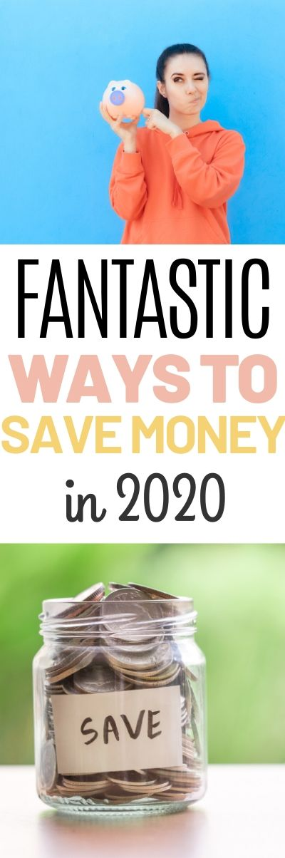 SAVE MONEY IN 2020